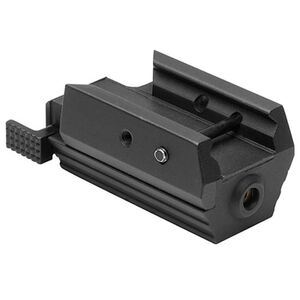 NcSTAR Tactical Pistol Red Laser Class IIIa Aluminum Black Finish