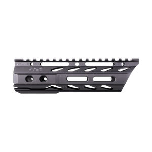 "Phase 5 AR-15 Lo-Pro Slope Nose 7.5"" Free Float Rail M-LOK Compatible 6061-T6 Aluminum Hard Coat Anodized Matte Black Finish"