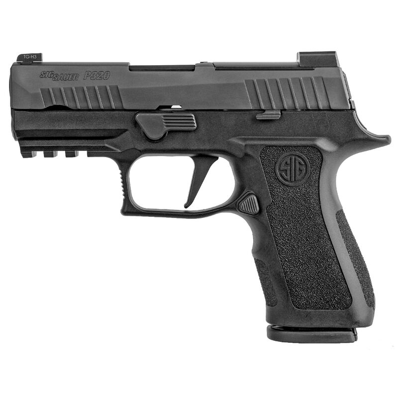 "SIG Sauer P320 X Compact 9mm Luger Semi Auto Pistol 3.6"" Barrel 15 Rounds X-Ray3 Sights Modular X-Grip Matte Black Finish"