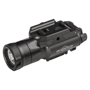Surefire XH35 MasterFire Compatible Ultra High Dual Output White LED WeaponLight 1000 Lumen 123A Battery Powered Aluminum Body Anodized Finish Matte Black