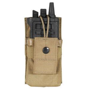 BLACKHAWK! Small Radio/GPS Pouch MOLLE 500 Denier Ballistic Nylon Coyote Tan 37CL35CT
