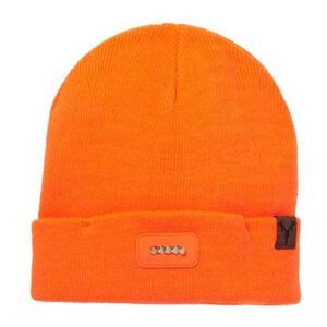 Hot Shot Bolt Lighted 5-Bulb Knit Cap Blaze Orange