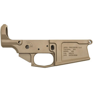 Aero Precision AR 308 M5 Stripped Lower Receiver Set .308 Win/7.62 NATO Aluminum FDE