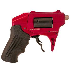 "Standard Manufacturing S333 Thunderstruck .22 WMR Double Barrel DA Revolver 1.25"" Barrel 8 Rounds Aluminum Frame Red Finish"