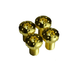 Strike Industries 1911 Torx Grip Screws Standard True 24k Gold Coating 4 Pack SI-1911TS-GC
