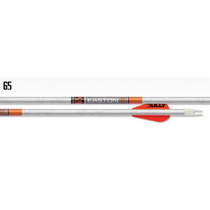"""Easton Arrow 6.5mm Whiteout 400 w/2"""" Bully Vanes 6-Pack"""