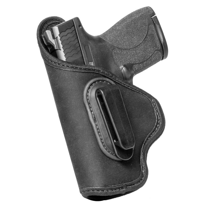 """Alien Gear Grip Tuck Universal IWB Holster For Extra Large 1911's with 4.5"""" Barrels Left Hand Draw Neoprene Black"""
