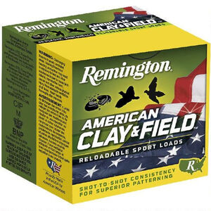 "Remington Clay & Field 12 Gauge Ammunition 2-3/4"" Shell #9 Lead Shot 1-1/8 Ounce 1200 fps"