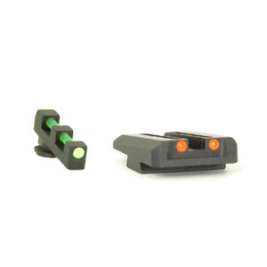 Williams Fire Sight Set For GLOCK 9mm/.40 S&W Aluminum Black 56359