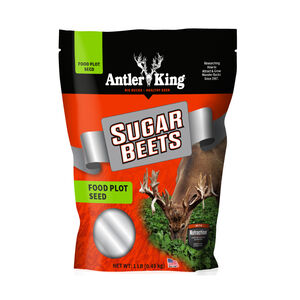 Antler King Game Sugar Beets Food Plot Seed 1lb 1/8 Acre