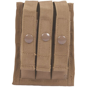 5ive Star Gear 3 Magazine MOLLE Pouch Coyote