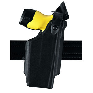 Safariland Model 6520 Taser X26P EDW Level II Retention Duty Holster with Belt Clip Right Hand STX Plain Black 6520-264-482