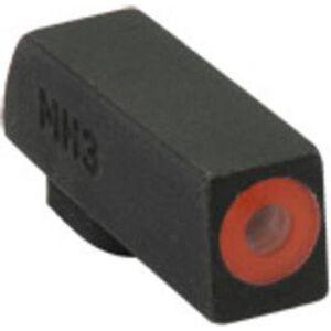 Meprolight Hyper-Bright Tritium Front Day and Night Sight Orange Ring for CZ P10 Pistols