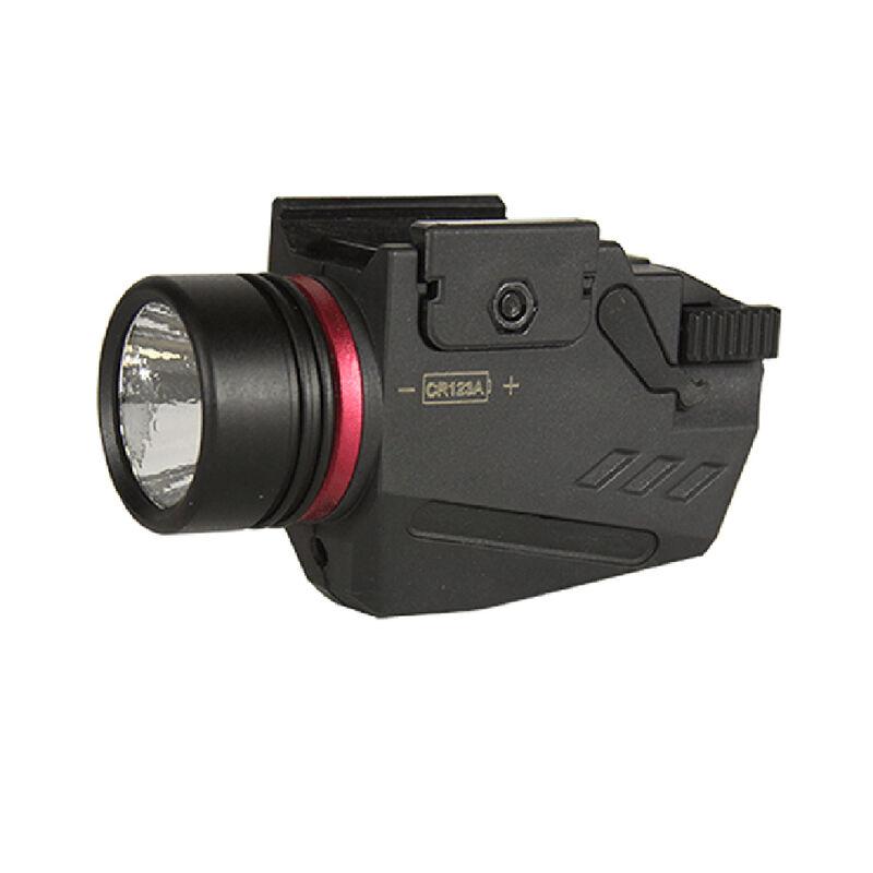 JE Machine 150 Lumens Flashlight & Red Laser