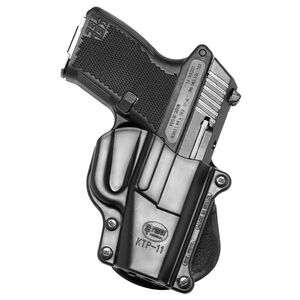 Fobus Holster Kel-Tec P-11/Ruger LC380,LC9/SCCY CPX-1 Right Hand Paddle Attachment Polymer Black