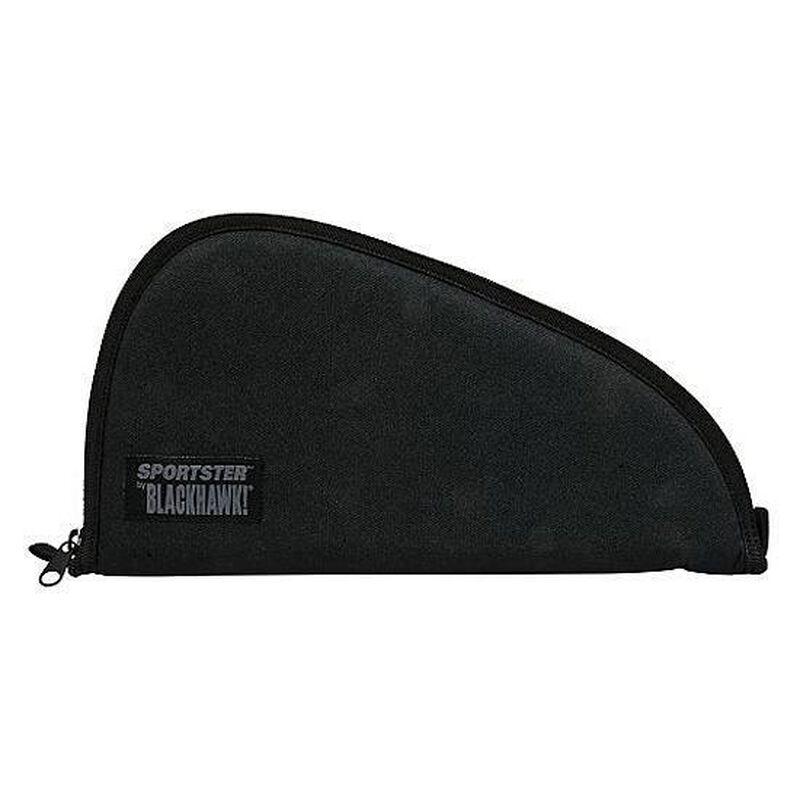 """BLACKHAWK! Sportster Large Pistol Rug/Case, Nylon, 15"""" x 8.5"""" x 1"""", Black"""