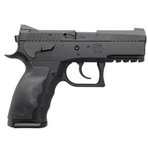 "KRISS USA SPHINX SDP Compact Duty Semi Auto Pistol 9mm Luger 3.7"" Barrel 17 Rounds White Dot/U-Notch Sights Interchangeable Rubber Grips Aluminum Frame Black SDP Coating Finish"
