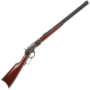 """Cimarron 1873 Sporting Rifle .44 Special Lever Action Rifle 24"""" Octagon Barrel 13 Rounds Case Hardened Frame Walnut Stock/Forearm Blued Finish"""