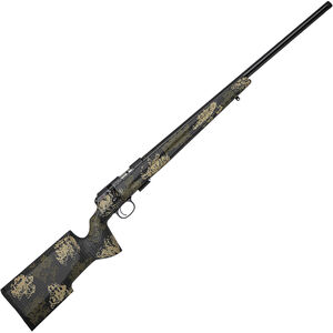 "CZ USA 457 Varmint Precision Trainer .22 LR Bolt Action Rimfire Rifle 24.875"" Threaded Heavy Barrel 5 Rounds Manners Composite Camo Stock Blued Finished"