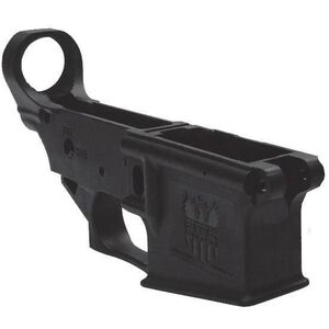 FMK AR1 eXtreme AR-15 Stripped Lower Receiver, Black Polymer