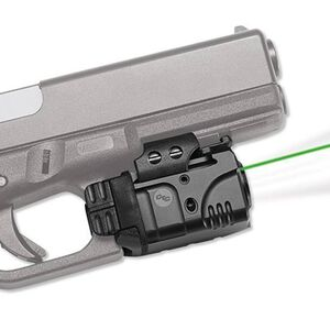 Crimson Trace CMR-204 Rail Master Pro Universal Tactical Light/Green Laser Combo Polymer Housing Matte Black Finish