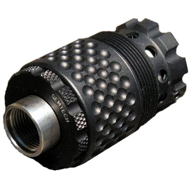 Gemtech LID Linear Inertial Decoupler 1/2x28 Matte Black MM9-LID-12-28