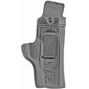 Don Hume H715-M Holster fits S&W M&P Shield EZ 2.0 9MM Right Hand IWB Leather Black