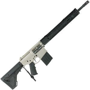 "Black Rain BRO Force AR308 Semi Auto Rifle .308 Win 16"" Divot 416R Barrel 20 Rounds M-LOK Handguard UBR Stock Black/Norguard Finish"