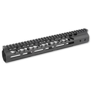 """GunTec AR-15 Freefloat Handguard 12"""" M-LOK Aluminum Black GT-12MLK"""