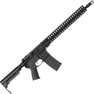 "CMMG Resolute 200 MK4 9mm Luger AR-15 Semi Auto Rifle 16"" Barrel 30 Rounds Uses ARC Magazines RML15 M-LOK Handguard Collapsible Stock Black Finish"