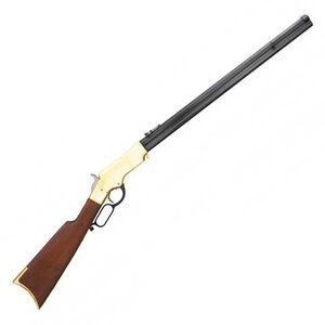 "Cimarron 1860 Henry Civilian Lever Action Rifle .45 LC 24"" Barrel 12 Rounds Walnut Stock Blued CA288"