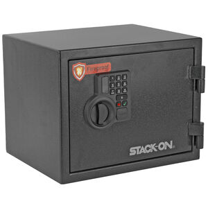 Stack-On Personal Fire Safe Electronic Key Pad 0.8 Cubic Feet Matte Black