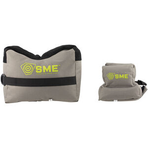 SME 2 Piece Front and Rear Shooting Bags Pre Filled
