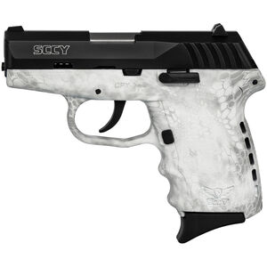"SCCY CPX-2 9mm Luger Subcompact Semi Auto Pistol 3.1"" Barrel 10 Rounds No Safety Kryptek Yeti Polymer Frame with Black Slide Finish"