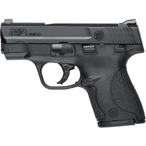 "S&W M&P9 Shield 9mm Luger Semi-Auto Pistol 3.1"" Barrel 7 Rounds Black"