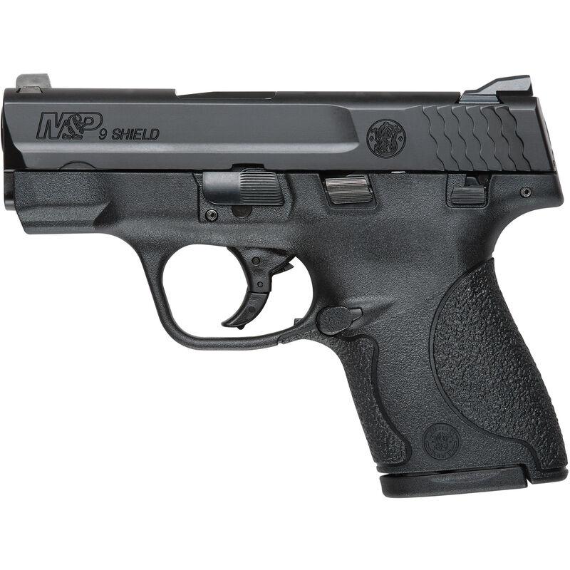 """S&W M&P9 Shield 9mm Luger Semi-Auto Pistol 3.1"""" Barrel 7 Rounds Black"""