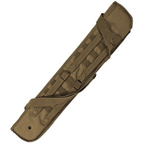 Voodoo Tactical Breacher's Shotgun Scabbard MOLLE Compatible Nylon Coyote 891607000