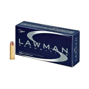 Speer Lawman .38 Special +P Ammunition 1000 Rounds TMJ 158 Grains 53750