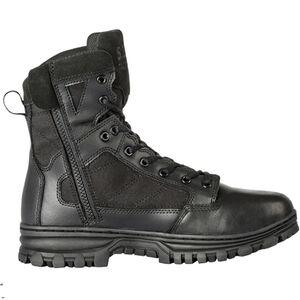 """5.11 Tactical EVO Men's 6"""" Side Zip Boot Size 10 Regular Black"""