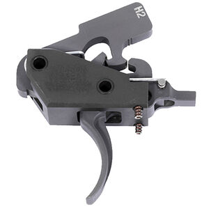 Wilson Combat AR-15/AR-10 Paul Howe Tactical Trigger Unit Two Stage Drop In 4.5 to 5 LBS Steel Black TR-TTU-H2