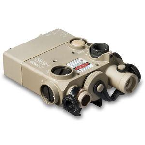 Steiner DBAL-I2 Dual Beam Aiming Laser Intelligent Red Laser/IR Laser Pointer Desert Sand