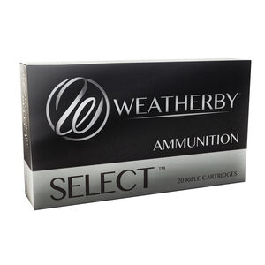 Weatherby Select .257 Weatherby Magnum Ammunition 20 Round Box 100 Grain Hornady Interlock Projectile 3605fps