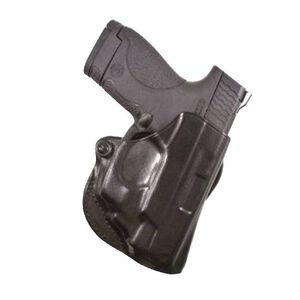 DeSantis Mini Scabbard Belt Slide Holster Springfield XD-S Right Hand Leather Black 019BAY1Z0