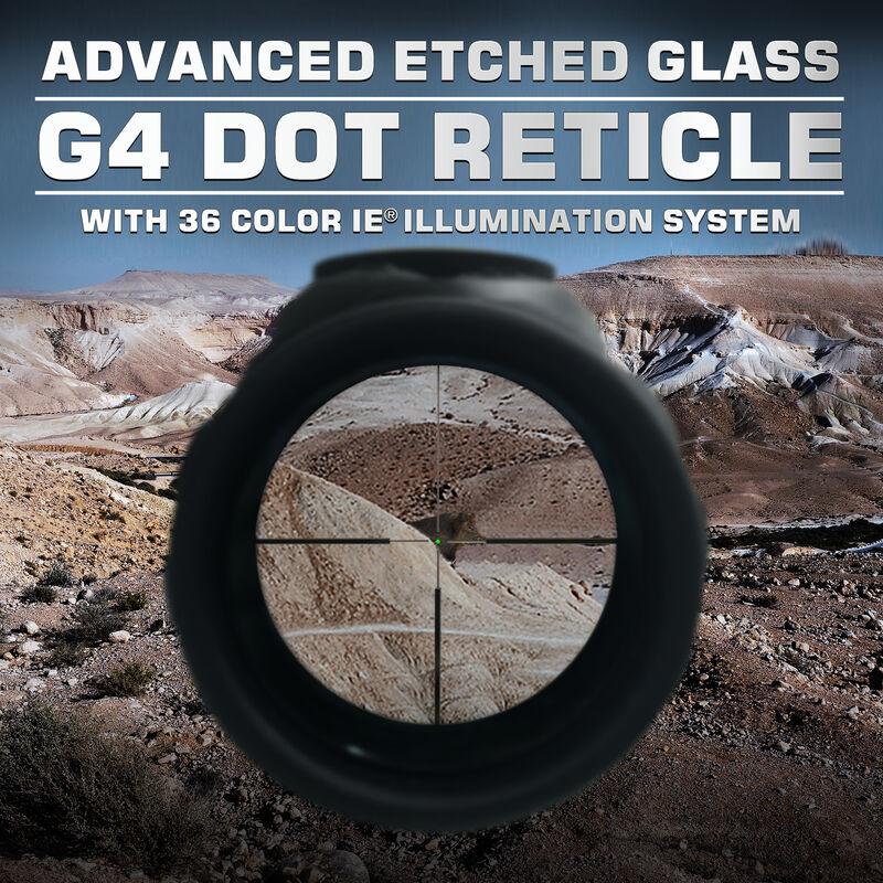 Leapers UTG G4 Scope 8-32x56mm Side Focus 30mm Tube Illuminated G4 Reticle Black SCP3-UG832G4