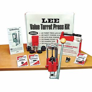 Lee Precision Value Four Hole Turret Press Kit with Auto Index 90928