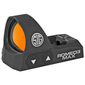 SIG Sauer ROMEO3MAX Micro Red Dot Sight 6 MOA Red Dot
