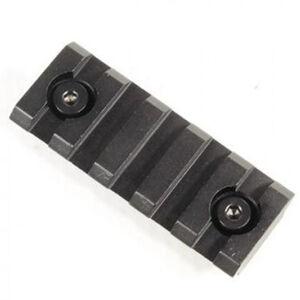 "Guntec AR-15 2"" Removable KeyMod Accessory Rail Aluminum Anodized Black"