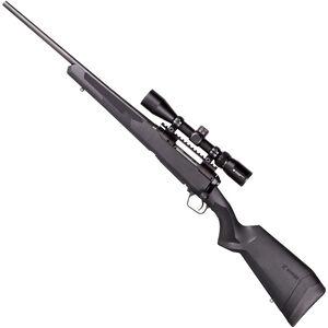 "Savage 110 Apex Hunter XP Left Hand Bolt Action Rifle .30-06 Springfield 22"" Barrel 4 Rounds DBM Vortex Crossfire II 3-9x40 Riflescope AccuTrigger Synthetic Stock Matte Black Finish"