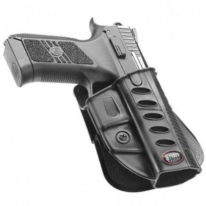 Fobus Evolution Holster CZ P-07 Duty,P-09 Right Hand Roto-Paddle Attachment Polymer Black