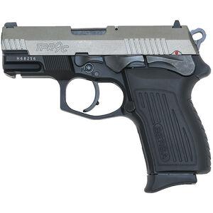 "Bersa TPR9C Duotone 9mm Luger Semi Auto Pistol 3.25"" Barrel 13 Round Black Alloy Frame Polymer Grips Matte Duotone Finish"